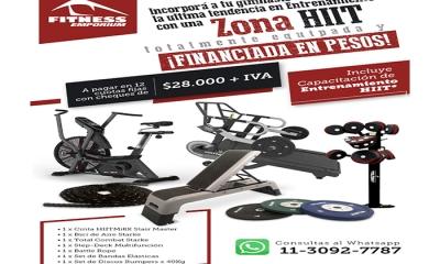 Incorporá a tu gimnasio la última tendencia en entrenamiento | ZONA HIIT Financiación en pesos